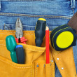 Tool belt — Stock Photo