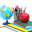 Stock Photo: school supplies&quot