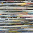 Stock Photo: Background made of magazines
