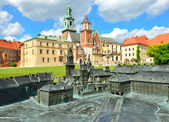 Royal Castle in Krakow, Wawel — Stock Photo