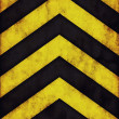 Warning stripes background — Stock Photo