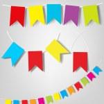 Vector set of flags — Stock Vector #6080878