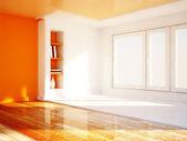 A big window, rendering — Foto de Stock