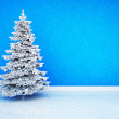 Royalty-Free Stock Photo: Christmas tree in the room