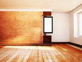 Foto nella stanza vuota — Foto Stock