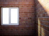 空の部屋でウィンドウ — ストック写真