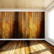 Empty room with a big window — Stock Photo