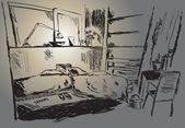 Room — Wektor stockowy