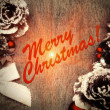 Royalty-Free Stock Photo: Vintage Christmas Card