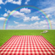 Picnic Template - Stock Photo