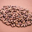 Royalty-Free Stock Photo: Beans on Brown