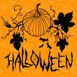 Halloween  decorative pumpkin  — Image vectorielle