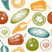 健康食品背景. — 图库矢量图片