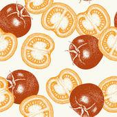 手工绘制的西红柿 — 图库矢量图片