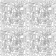 Vector de stock : Circuit board