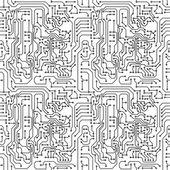 Circuit board — Stock Vector