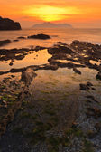 Seascape sunset — Stock Photo