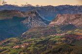 Mountain landscape, — Stock Photo