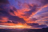 Sunrise landscape — Stock Photo