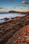 Amazing seascape sunset — Stock Photo