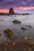 Sunrise at Playa de Portizuelo — Stock Photo