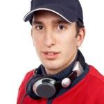Disc jockey portrait — Stock Photo #5880982