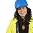 Female construction worker — Stock Photo #5881275