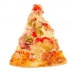 Slice of tasty Italian pizza — Stock Photo #6339681
