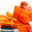 Detail of gift boxes — Stock Photo #6347611