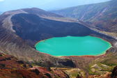 Mt. Zao and crater lake — Fotografia Stock