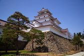 Aizu Wakamatsu Castle, Fukushima, Japan — Stock Photo