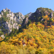 Stock Photo: Autumn crag mountain
