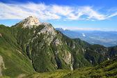 Japan Alps Mt. Kaikomagatake — Stock Photo