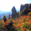 Autumn colours of crag — Stock Photo #35700009