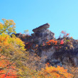 Autumn colours of crag — Stock Photo #35700041