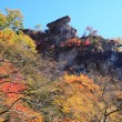Autumn colours of crag — Stock Photo #38641917