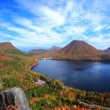 Autumn colours of Mountain and lake — Stock Photo #38642639