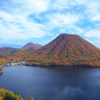 Autumn colours of Mountain and lake — Stock Photo #38642695