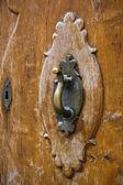 Old door knocker — 图库照片