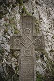 Cross at Count Dracula — Stockfoto