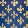 Stock Photo: Fleur de lis wallpaper