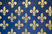 Fleur de lis wallpaper — Stock Photo