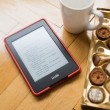 Amazon Kindle reader — Stock Photo