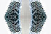 超現代的な建築物のファサード — ストック写真