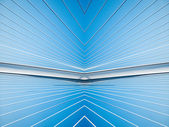 Cables de soporte moderno puente — Foto de Stock