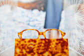 Glasses frame stand — Stock Photo