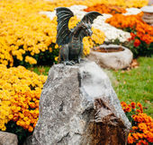 Statue of a dragon — Stock Photo