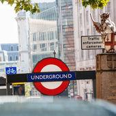Londýnské metro — Stock fotografie