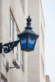 Metropolitan Police lantern in London — Stockfoto