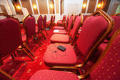 Luxury hotel conference room — Stock Photo